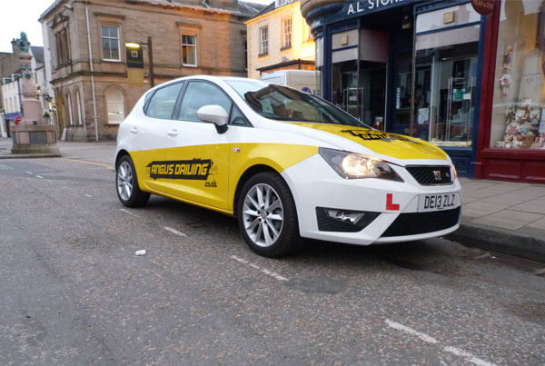 Peebles Driving Test Route 2
