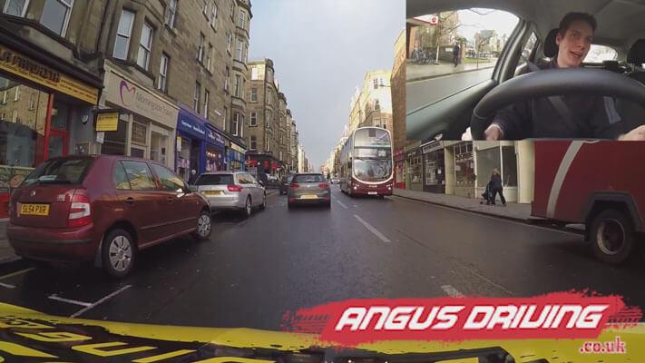 Morningside Driving Video – Edinburgh Driving Lessons