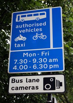 Edinburgh Bus Lane Operation Times Changing