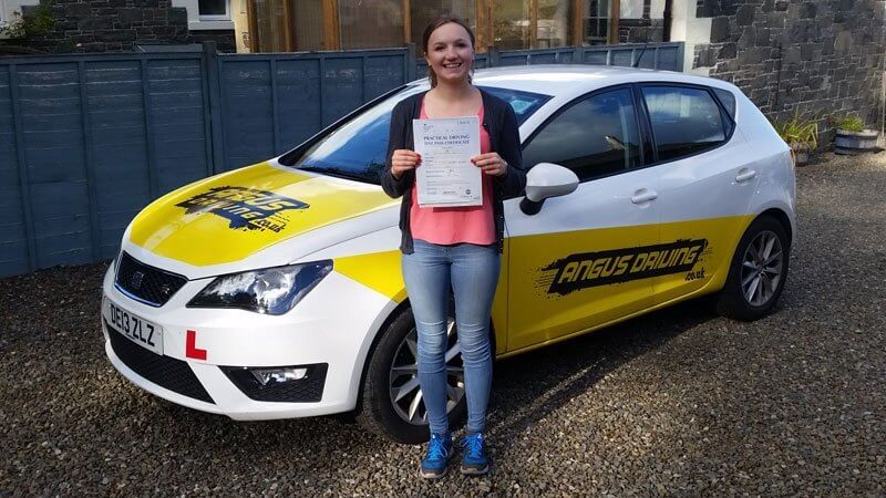 Peebles driving instructor