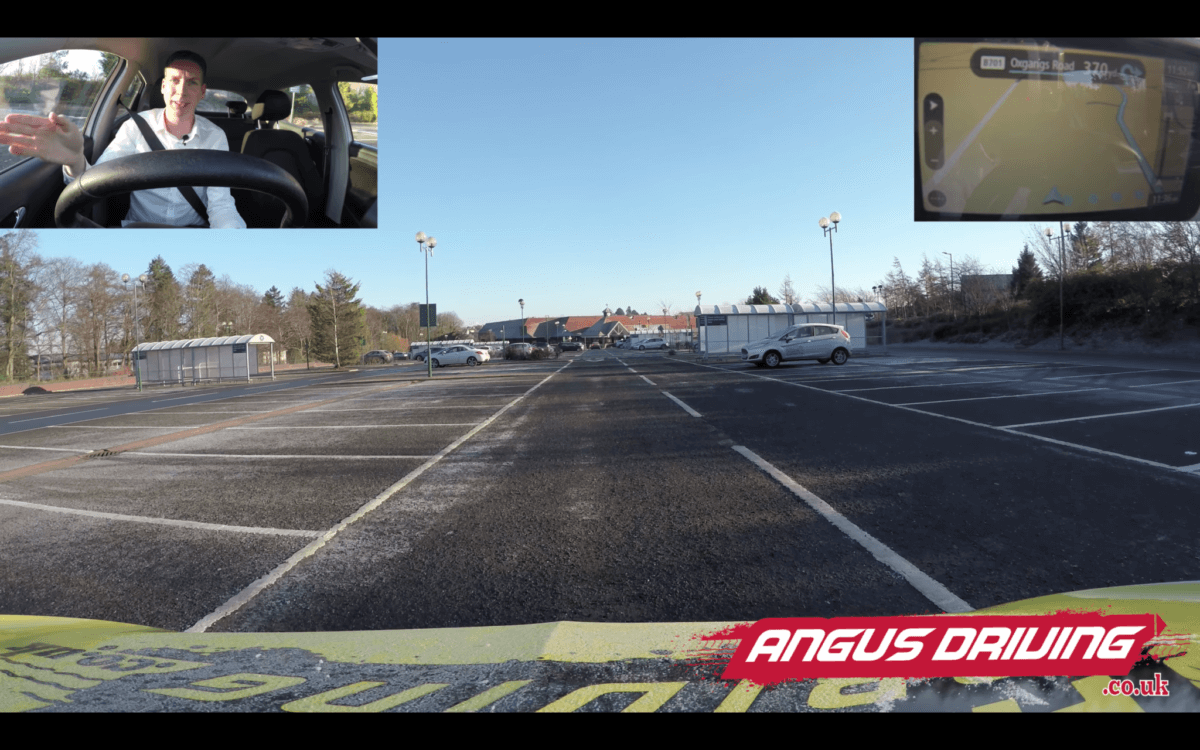 New Style Driving Test With Sat Nav Car Parks And Pull Up