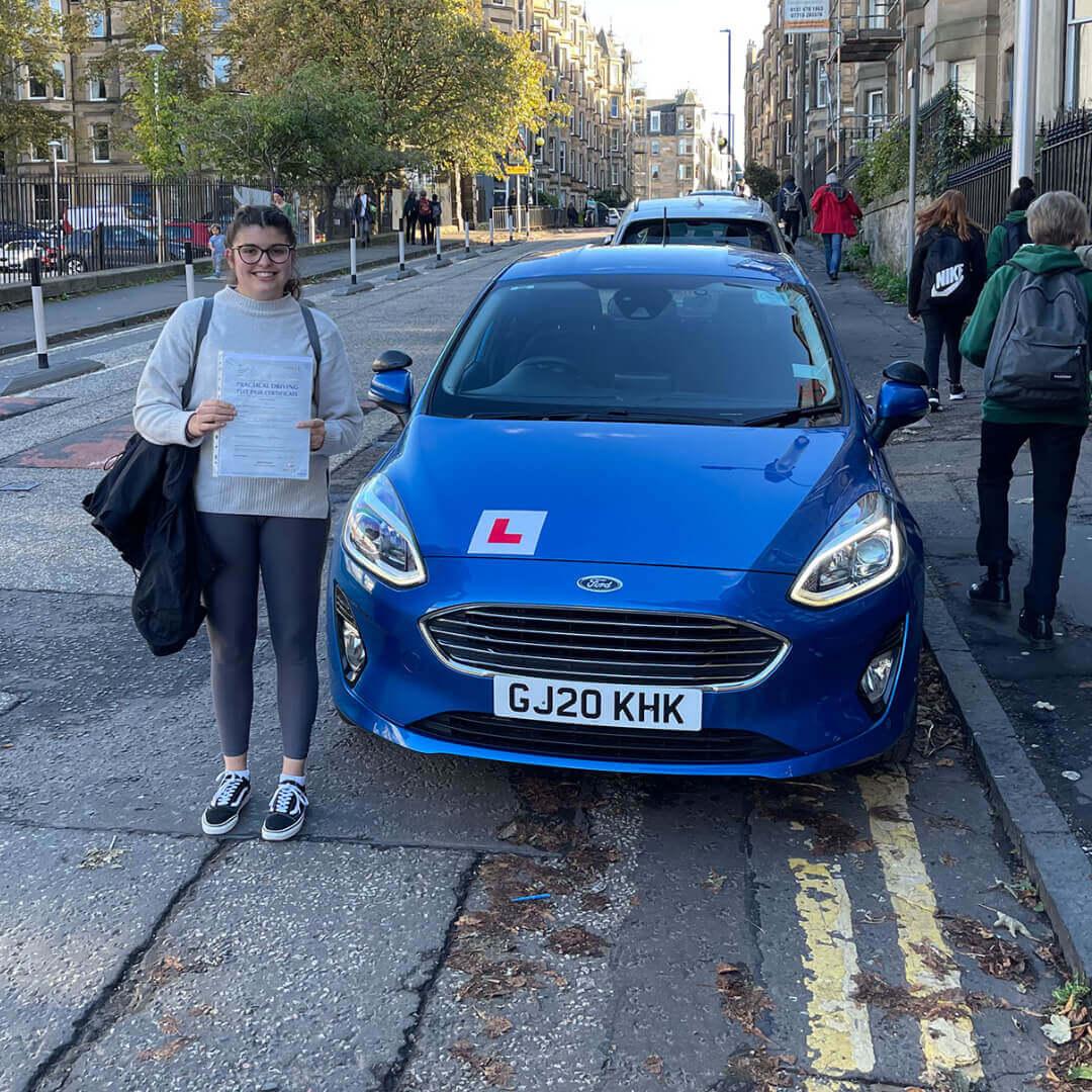 driving instructor in Bruntsfield Edinburgh